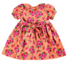 MARGOT VINTAGE BLUSH FLORAL- Soft Corduroy Hand Smocked Dress
