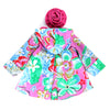ALOHA HOODED JACKET- TROPICAL FUCHSIA