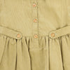 CORDUROY PRESLEY HARPER A-LINE DRESS- LIGHT KHAKI