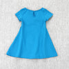 PARIS MADEMOISELLE DRESS- BLUE