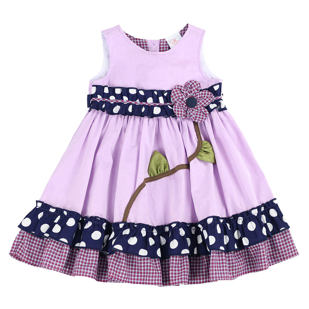 MAY FLOWER DRESS- LILAC
