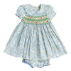 LAURA CARRIE SMOCKING DRESS