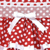 FISHING for POLKA DOTS-RED
