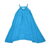 SWING AWAY DRESS- OCEAN BLUE