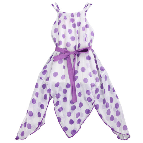 ALL THE POLKA DOTS- LILAC