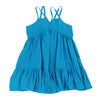 Harley Brights Midi Dress- Teal Blue