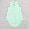 LISA VALENTINA TUNIC- MINT