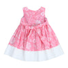 BOW-TERFLY DRESS- RUSTIC PINK
