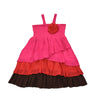 LET'S TWIST AGAIN DRESS- FLAMENCO FUCHSIA