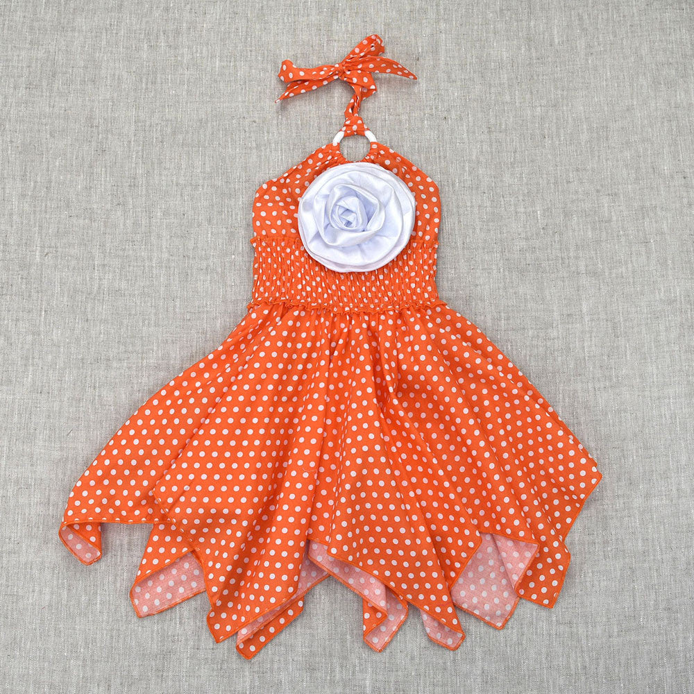 LITTLE MISS ROSE- TANGERINE