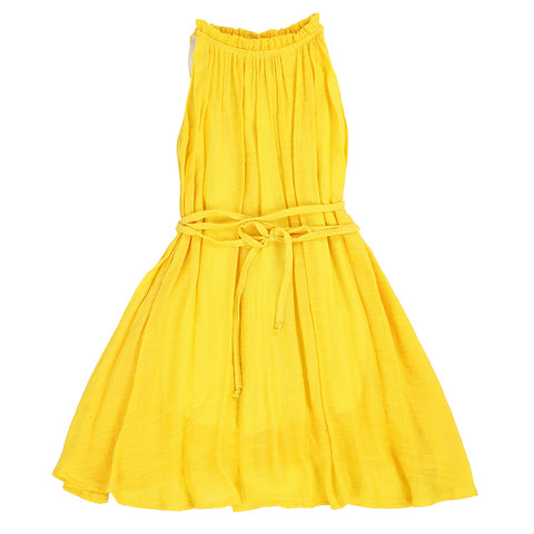 CHIC DRESS- SUNSHINE YELLOW