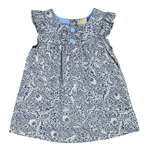 BEAUTIFUL BABY- DENIM PAISLEY