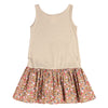 100 DEGREE DRESS- BEIGE