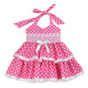 FISHING for POLKA DOTS-PINK