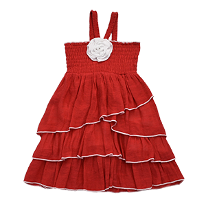 TUTU TANGO DRESS- RED HOT