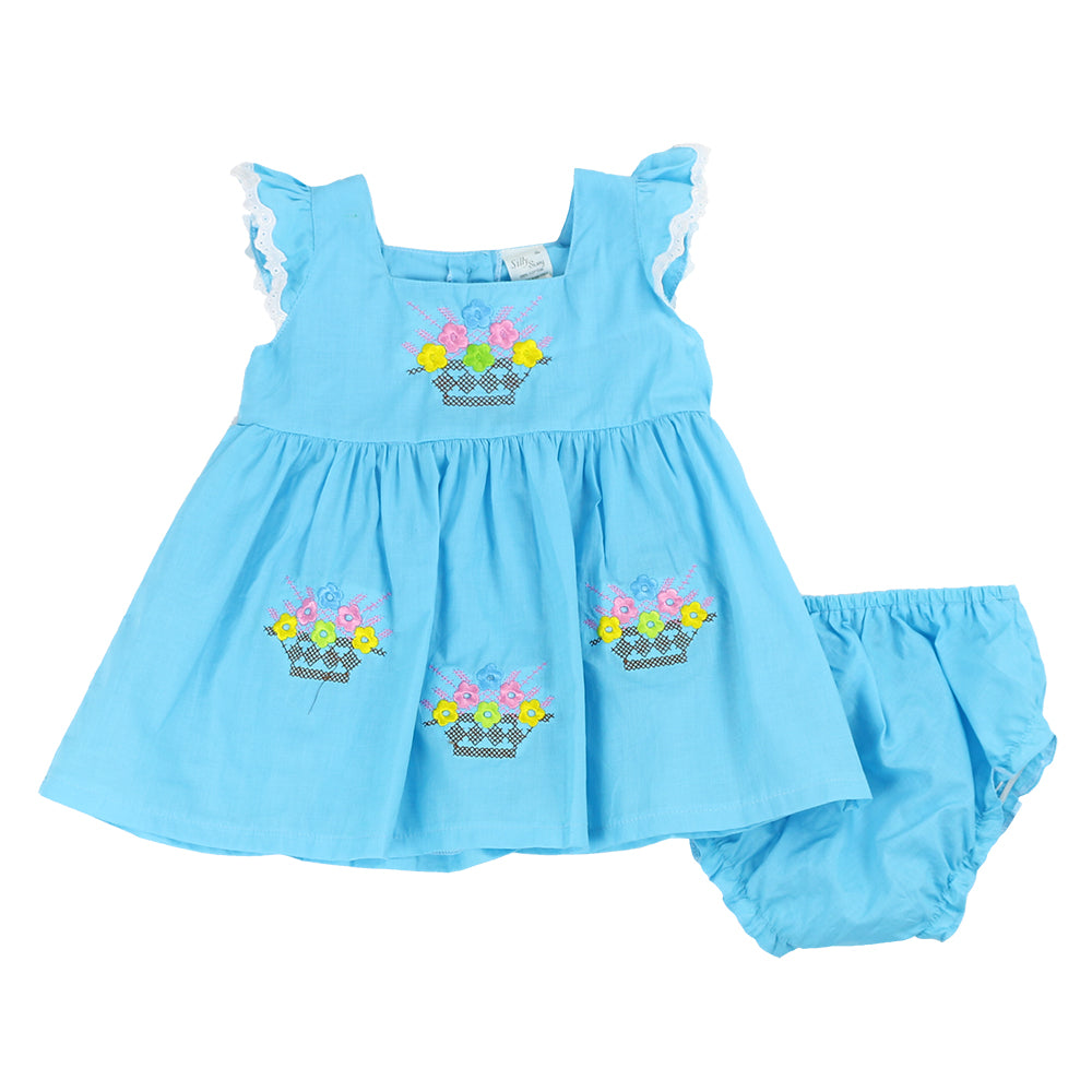 SPRING BASKET INFANT SET- BLUE