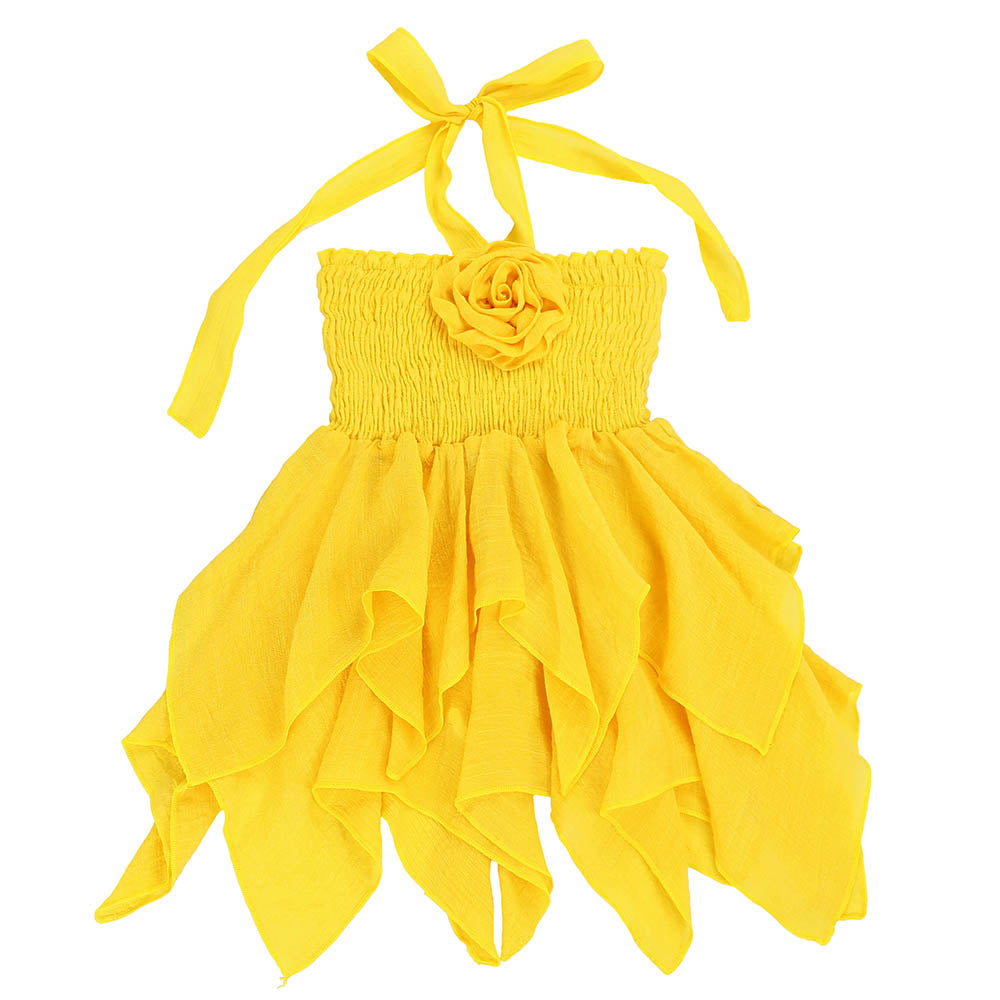 JE T'AIME DRESS - YELLOW
