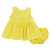 ROSEBUD INFANT SET- YELLOW