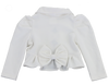 ZURI CROP JACKET- WHITE