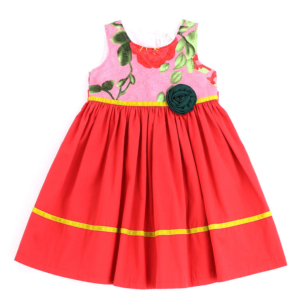 PICTURE PERFECT DRESS- CANDY APPLE RED