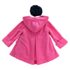 JESSIE DOUBLE FLEECE JACKET- PINK BEAUTY