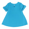 JOSIE BUTTON TUNIC- BLUE