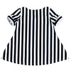 JOSIE STRIPE TUNIC- BLACK & WHITE