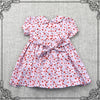 ENGLISH GARDEN PINK SMOCKING DRESS