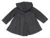 ROXY'S FOXY APPLIQUE JACKET- BLACK DENIM & GRAY
