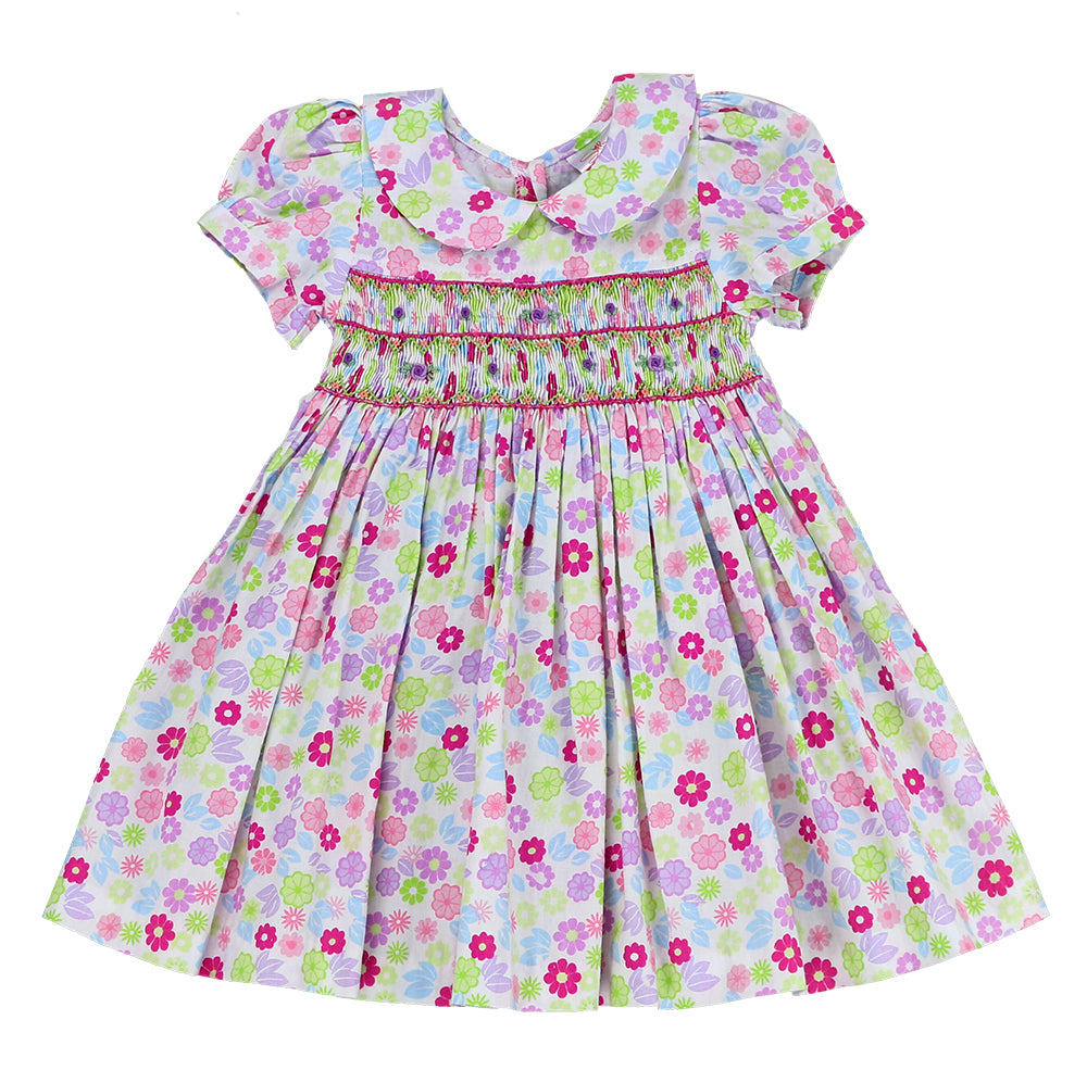 SPRING PRINCESS - Smocking Dress - FLORAL