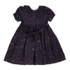 MARGOT VIOLET- Soft Corduroy Hand Smocked Dress