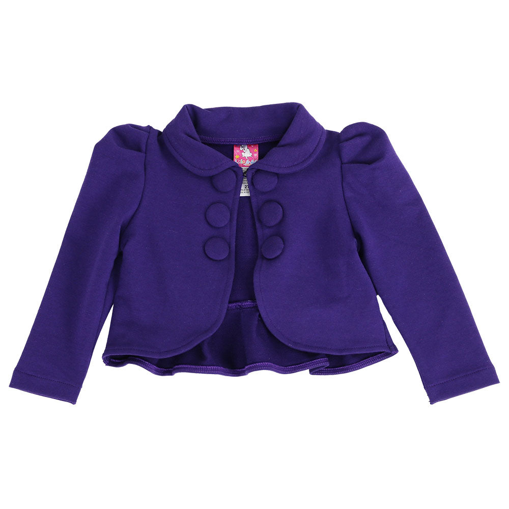 LADONNA BOLERO JACKET - PURPLE
