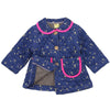 DANNIE-BEE QUILTED JACKET- NAVY