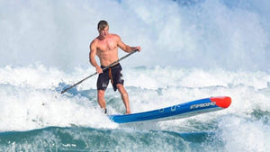 Wild Tides interview with Michael Booth SUP world Champion