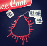 Red Blood Drop Necklace AD10276