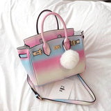 Sweet Gradient Rainbow Bag AD0295