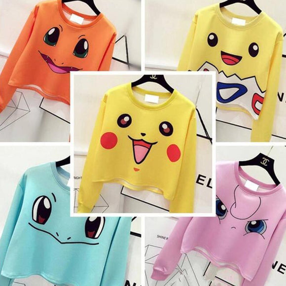 Harajuku cute cartoon printed fleece AD0161