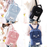 Cute Kawaii Students Cat Backpack AD0061