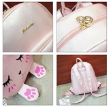 Cute Cat Backpack AD0217