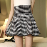 Grid Knitted Skirt AD10826