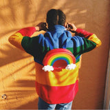 Rainbow Colorful Sweatshirt AD10217