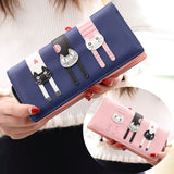 Zipper Cat Wallet AD10959