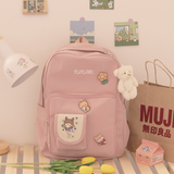 Kawaii Canvas Backpack AD11768