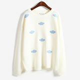Sweet Clouds Sweater Knitting AD10236