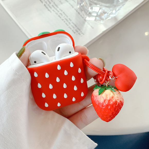 Strawberry Airpods Case AD11268