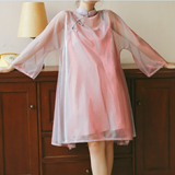 Harajuku Transparent Dress AD10065