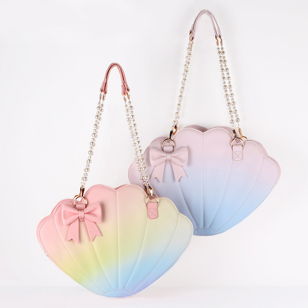 Rainbow Gradient Shell Bag AD11801
