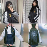 Sailor Moon Cartoon Embroidery Jacket AD10336
