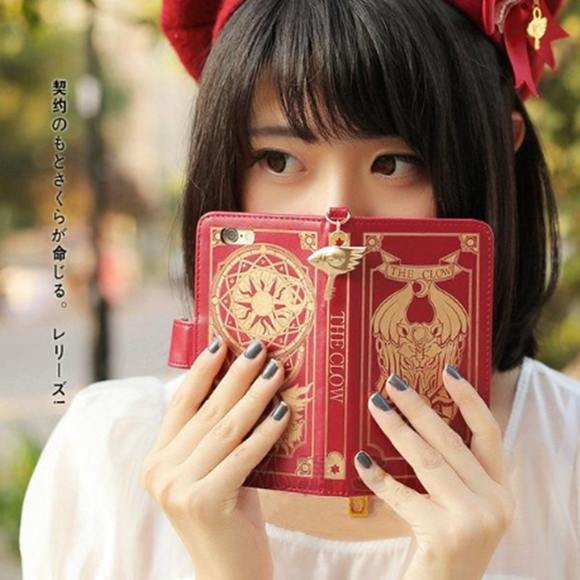 Cardcaptor Sakura Book Phone Case AD10365