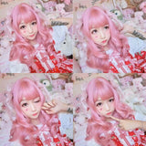 Pink Lolita Curly Wig AD10109